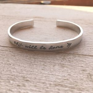 Jewelry - Thy Will Be Done Christian Bracelet